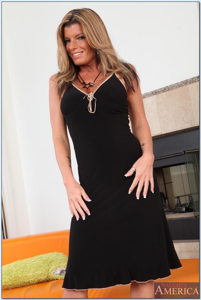 Kristal Summers Black Dress