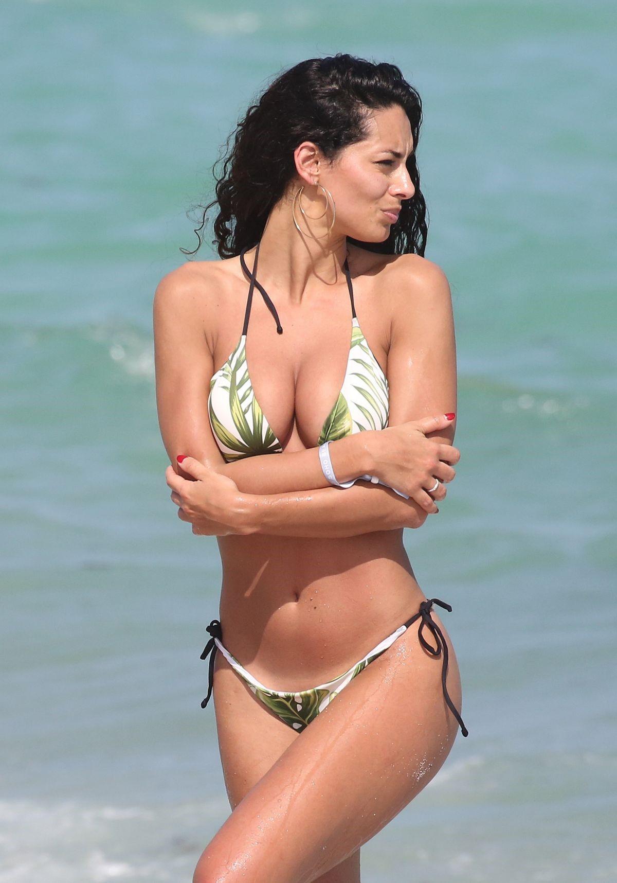 Raffaella Modugno Bikini Photos