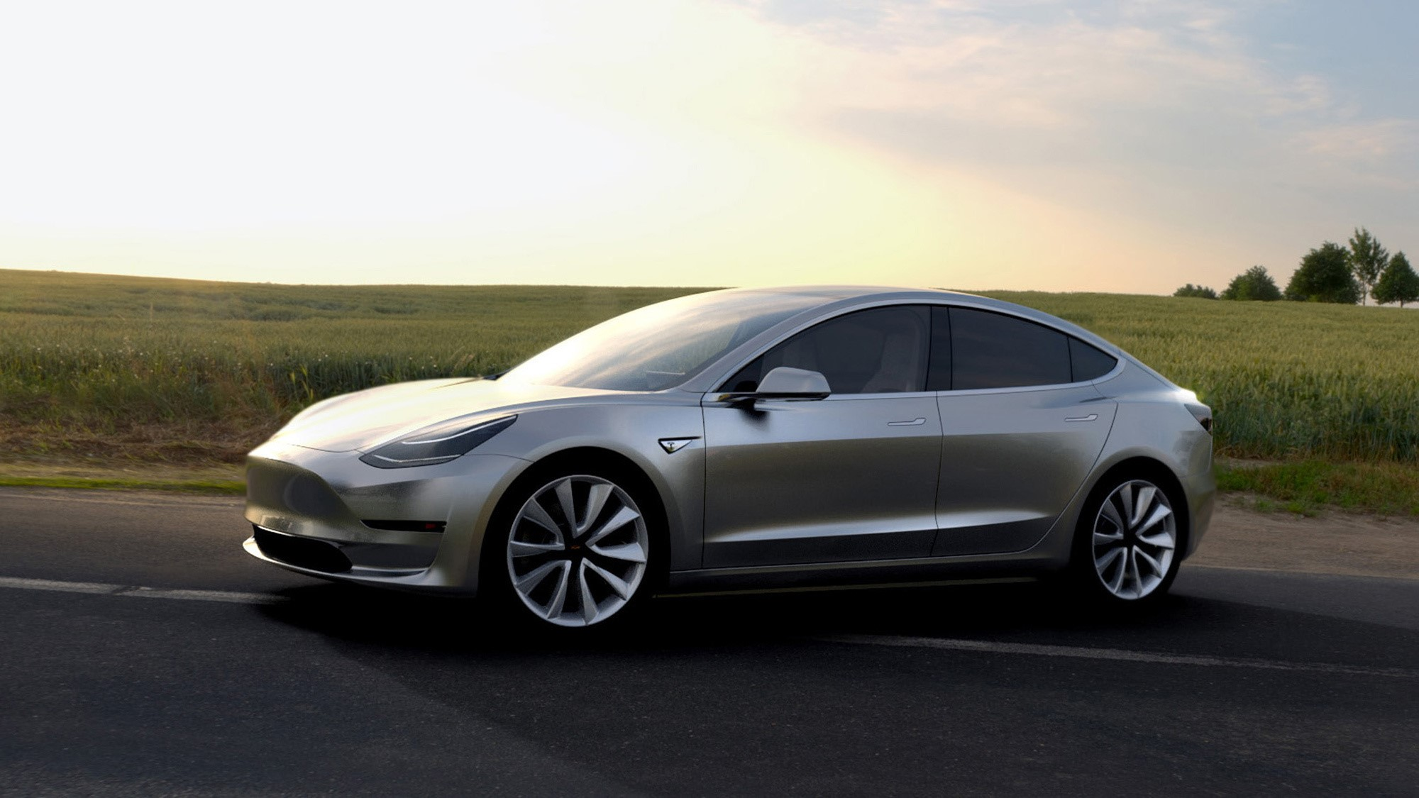 Tesla Model 3 Desktop