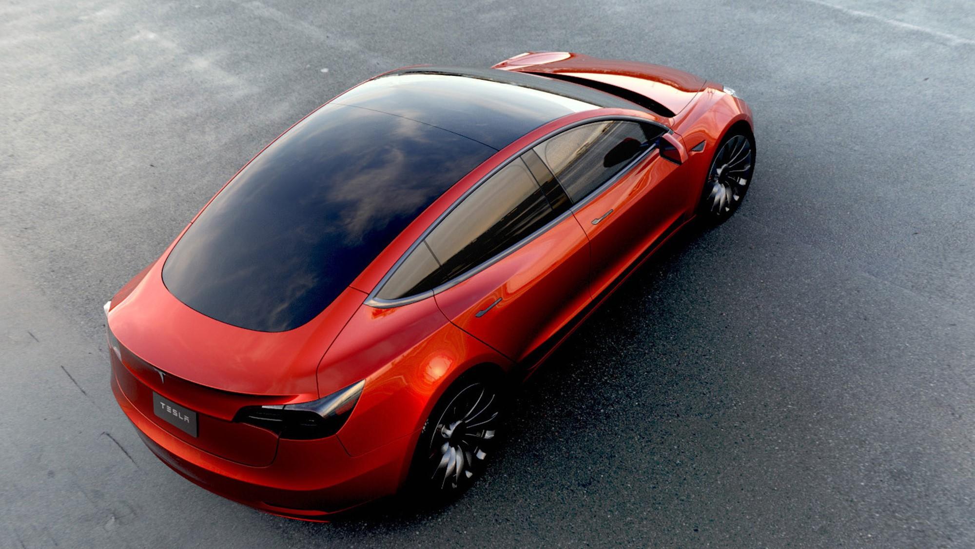 Tesla Model 3 Photos