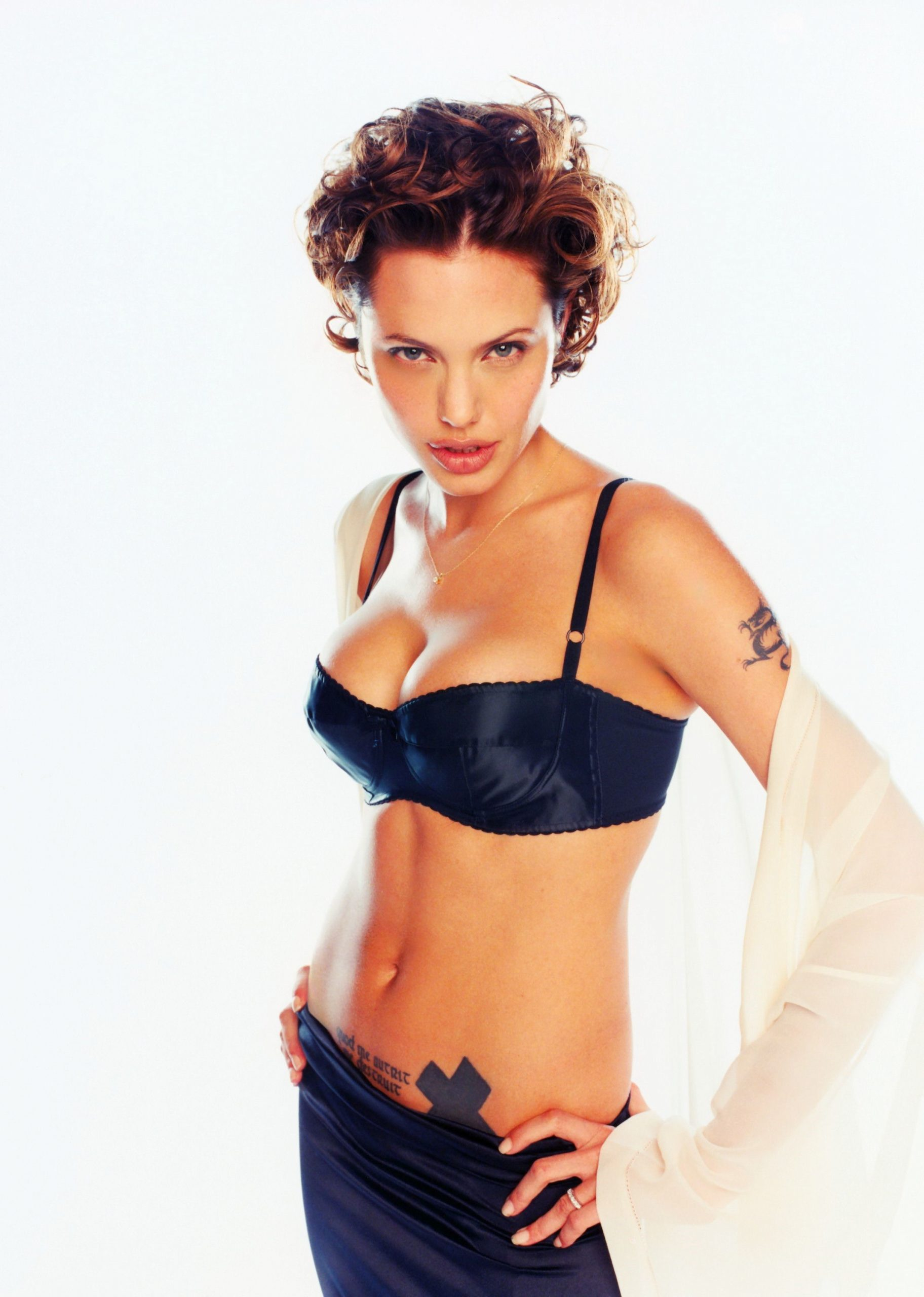 Angelina Jolie Lingerie