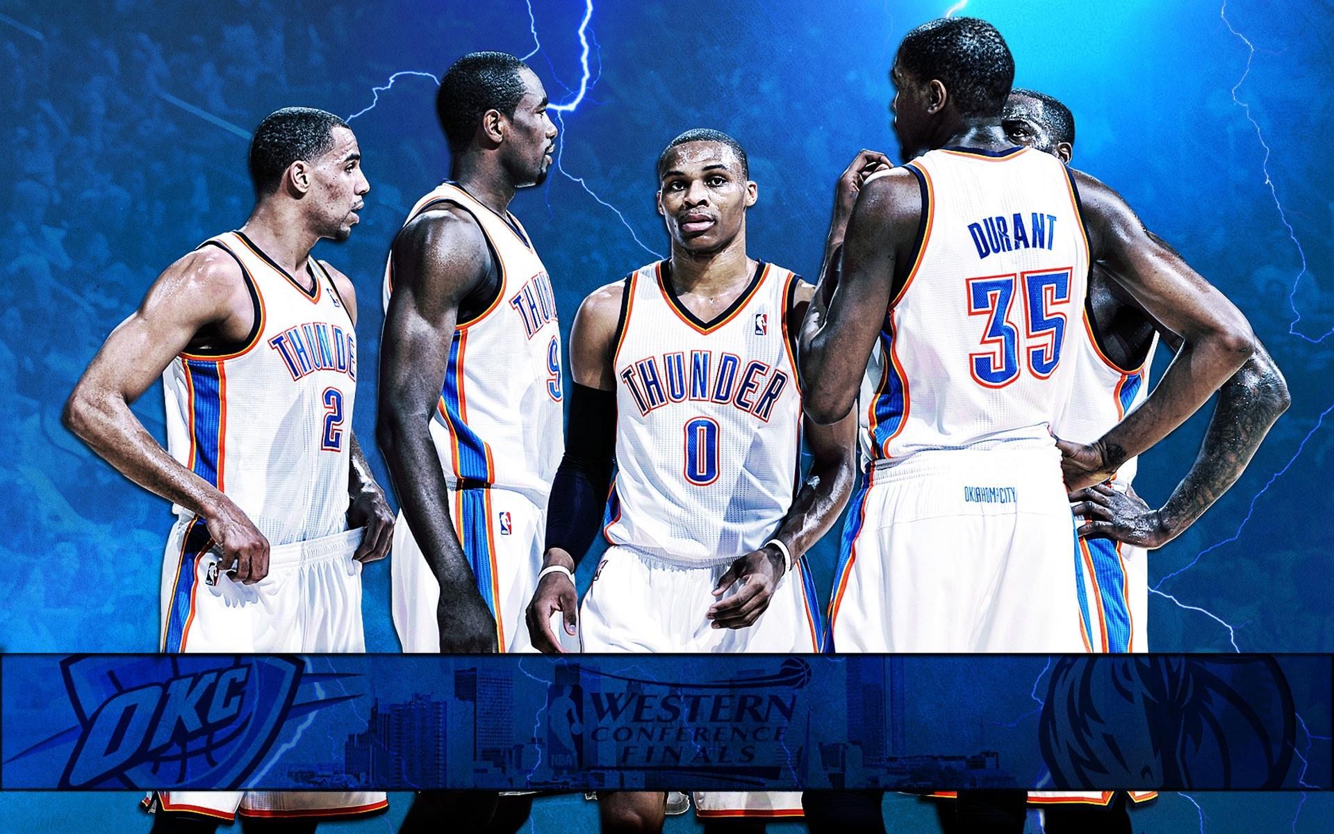 Oklahoma City Thunder Desktop Wallpapers