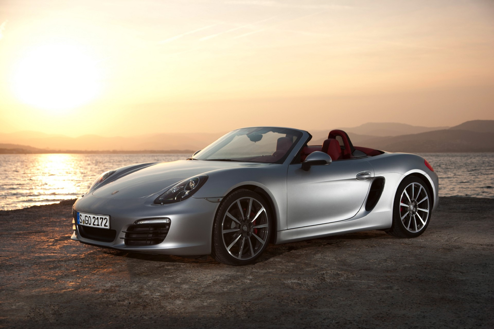 Pictures of Porsche Boxster Spyder