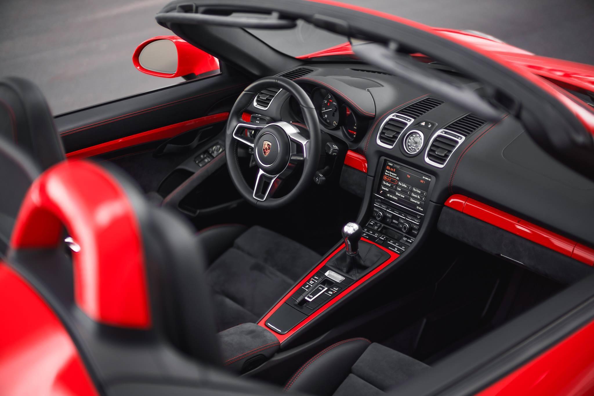 Porsche Boxster Spyder Background