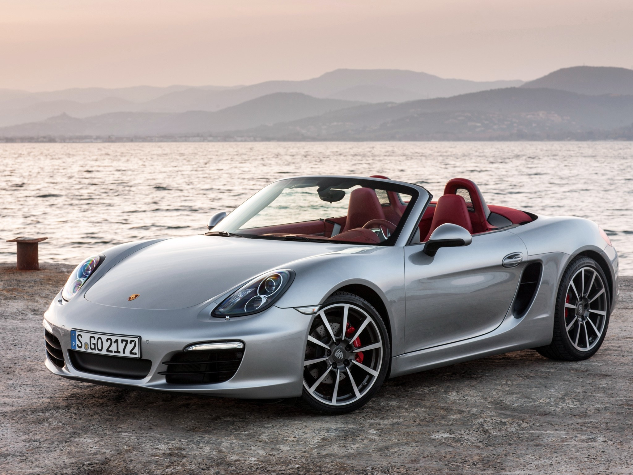 Porsche Boxster Spyder Pics