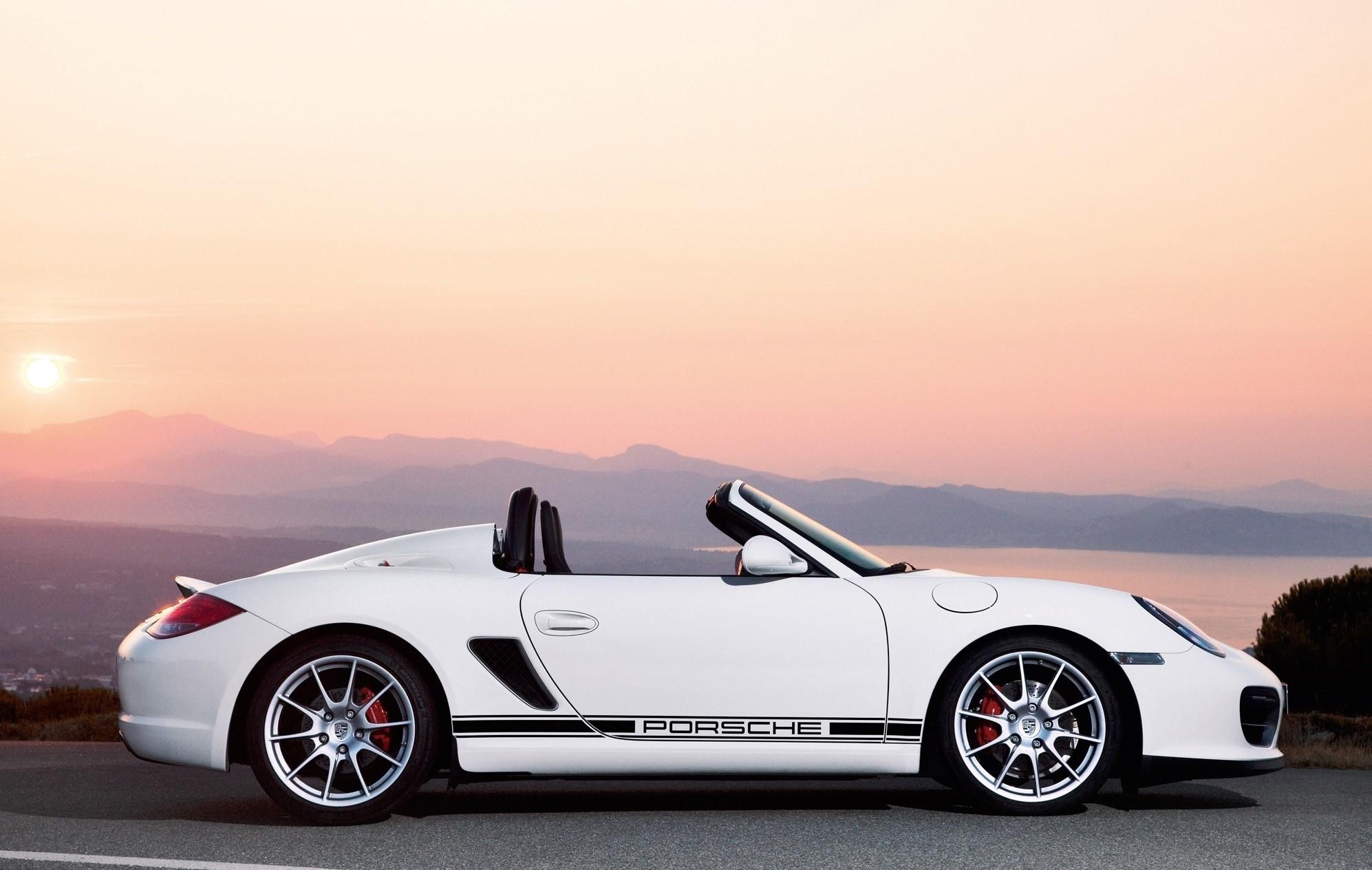 Porsche Boxster Spyder Wallpapers
