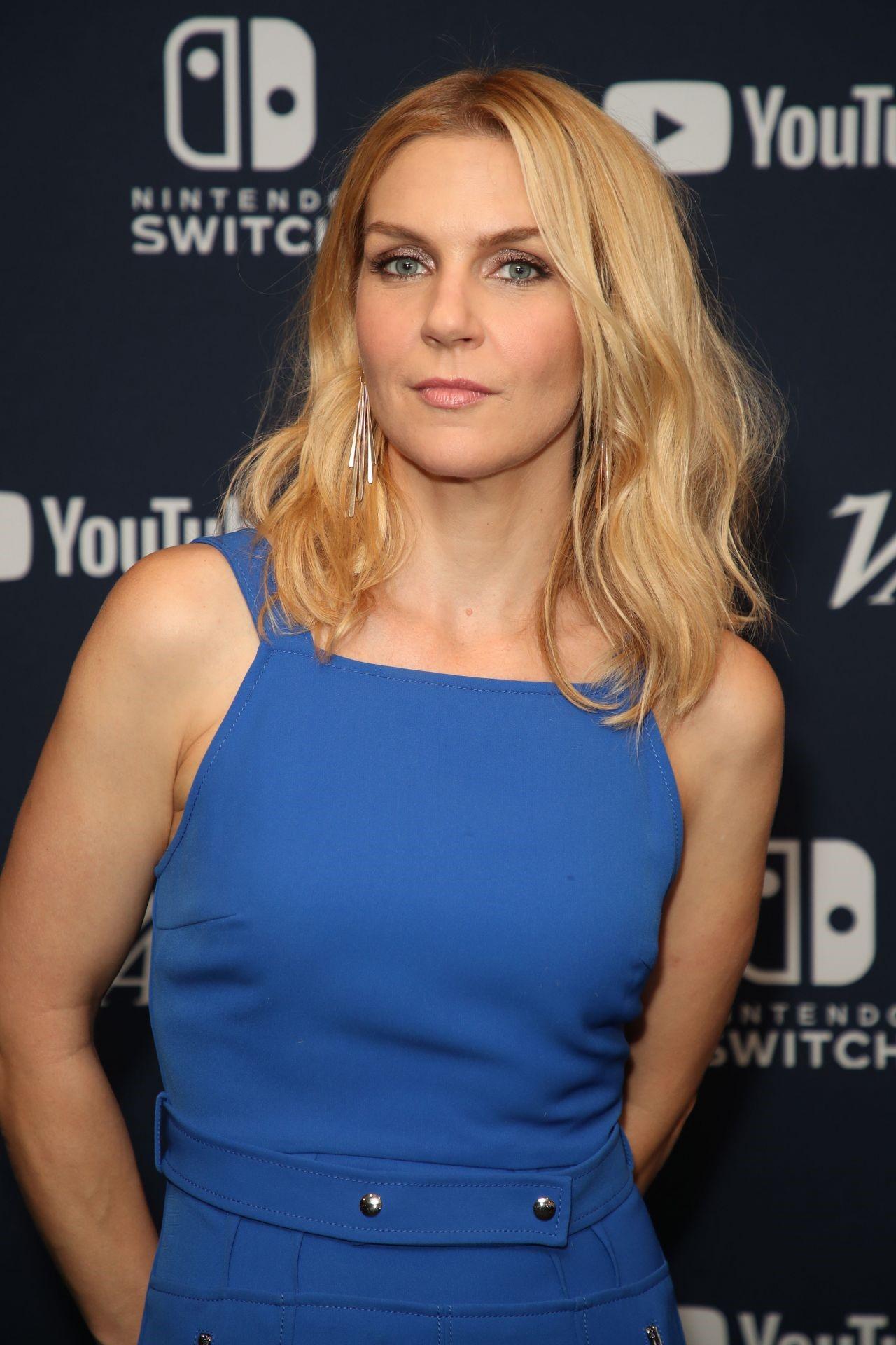 Rhea Seehorn Blue Dress