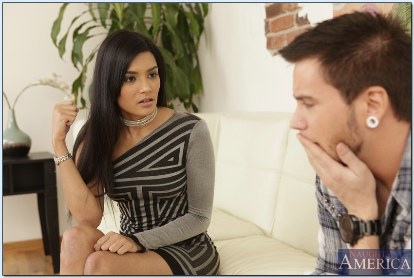 Shazia Sahari and her Boyfriend