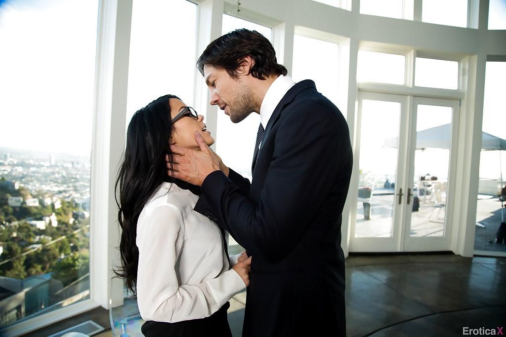 Megan Rain and her Boyfriend