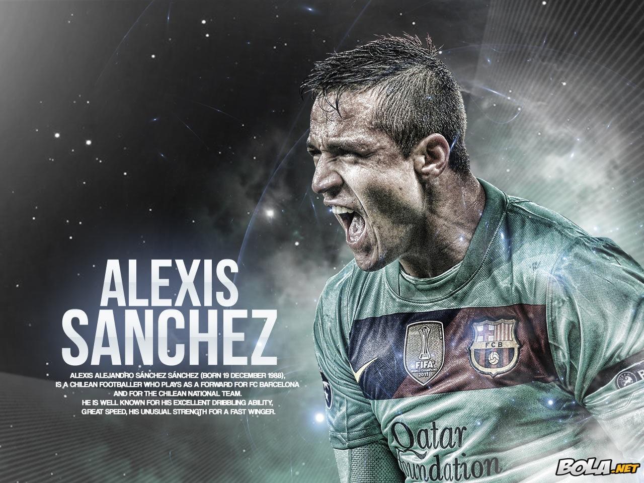Alexis Sanchez Desktop