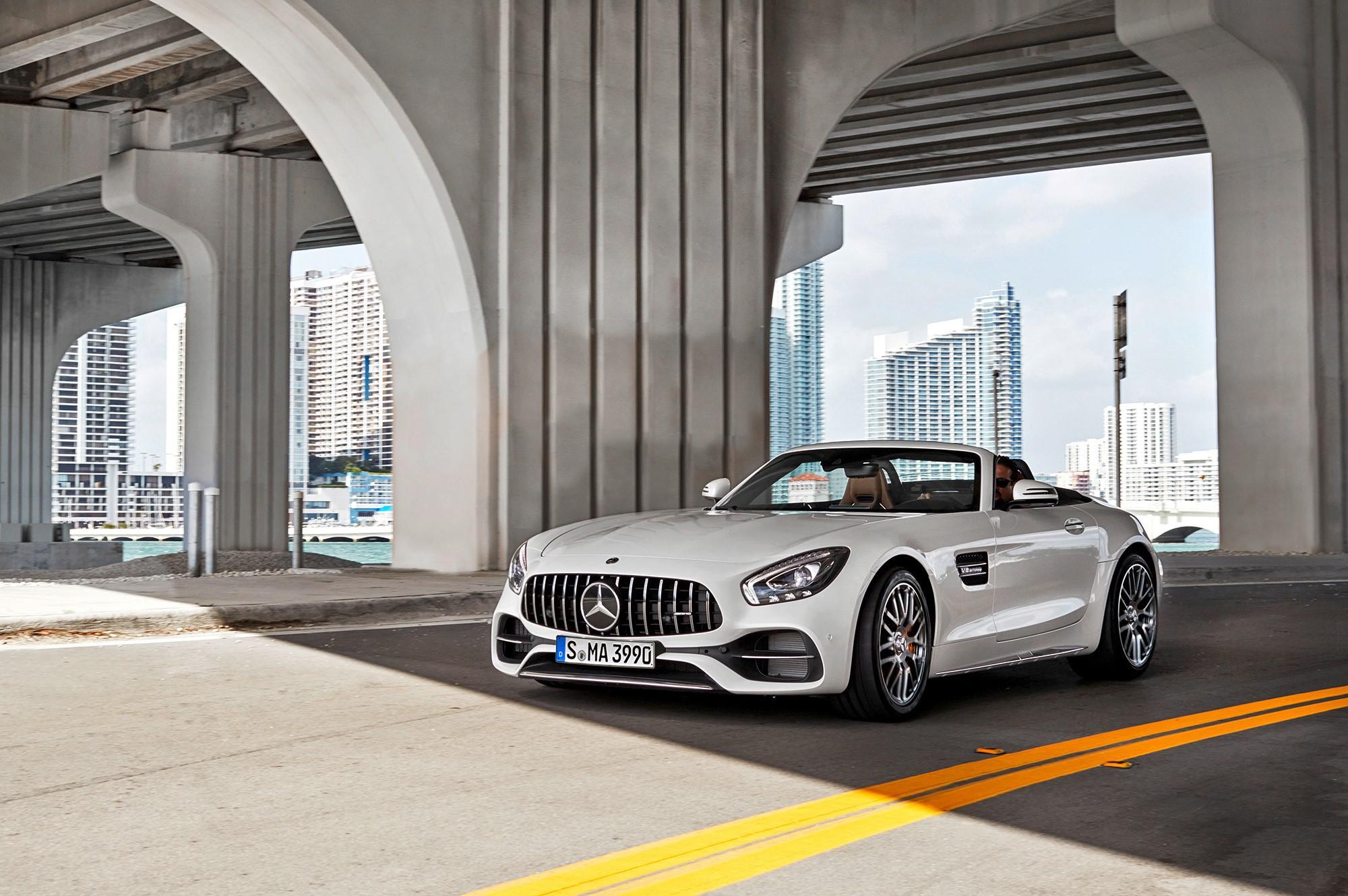 Mercedes AMG GT C Roadster Background images