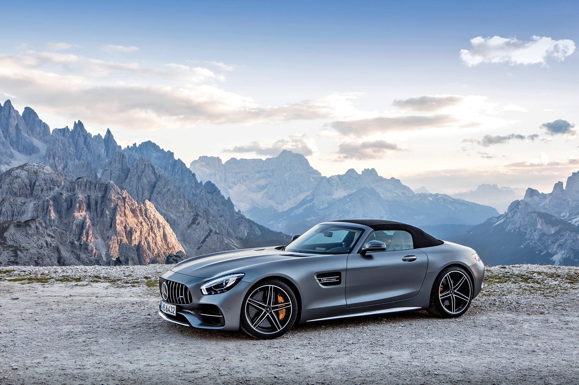 Mercedes AMG GT C Roadster Desktop Wallpapers