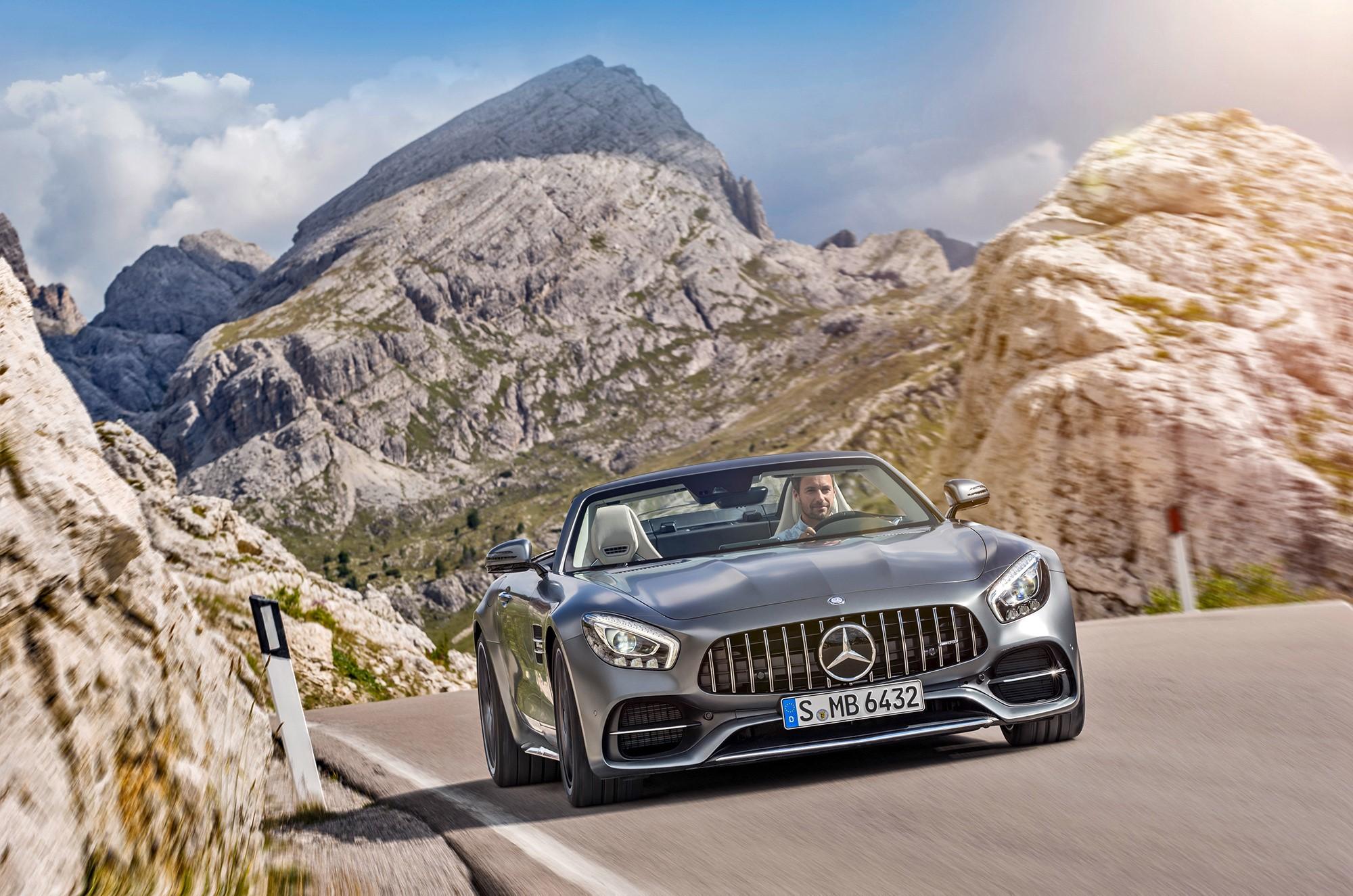 Mercedes AMG GT C Roadster images
