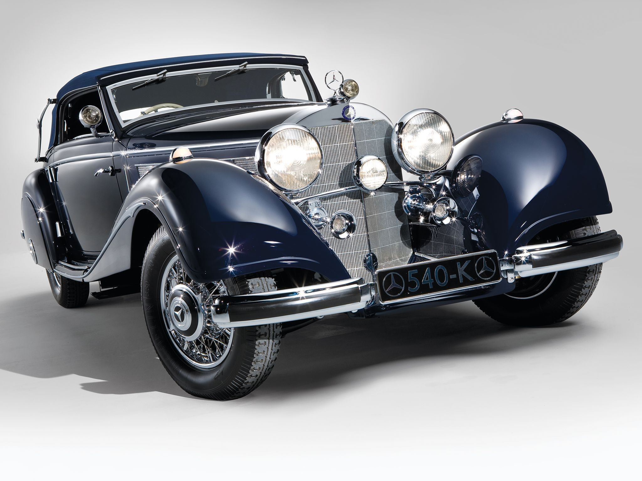 Mercedes Benz 540K Pictures