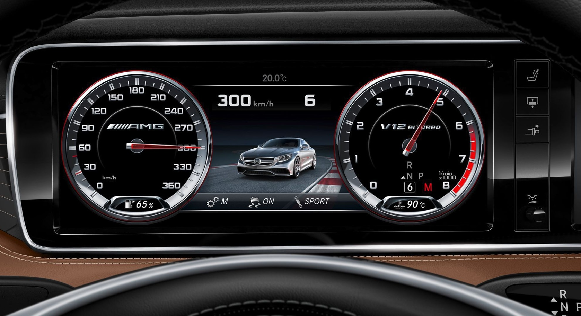 Mercedes Benz S65 AMG Background