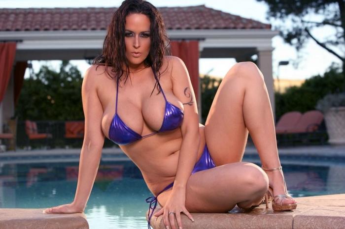 carmella bing bikini